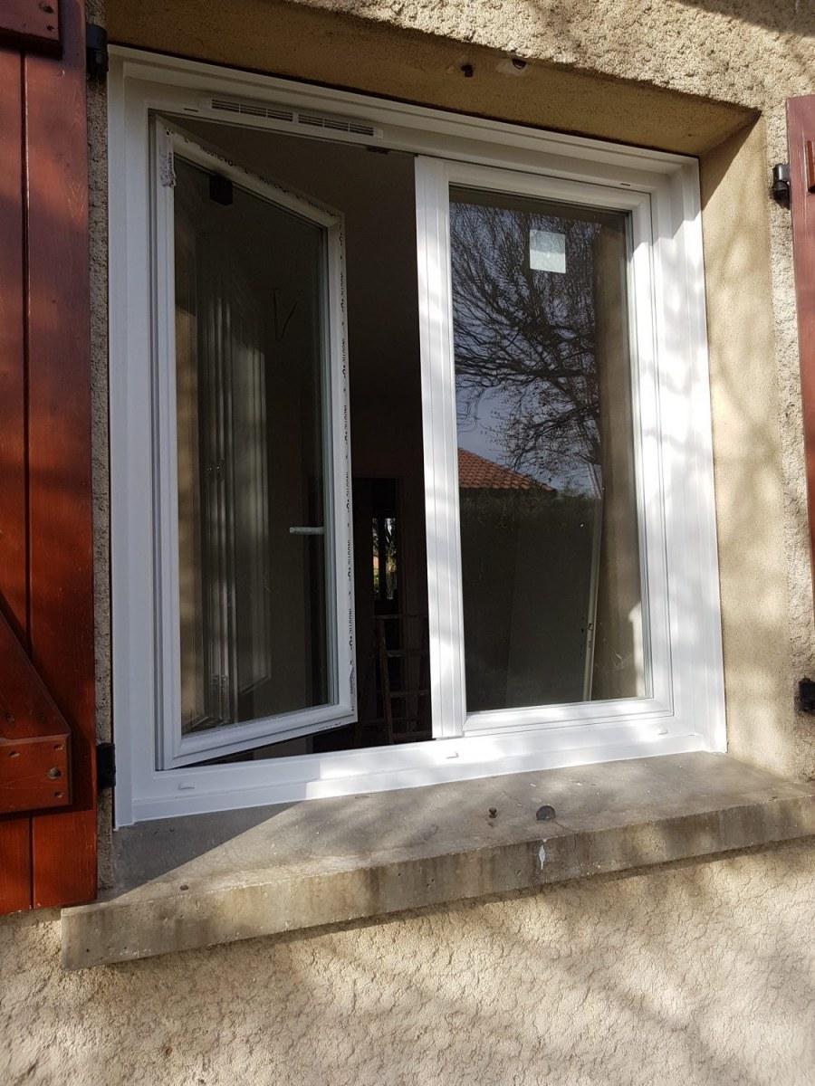 Fenetres Renovation Ou Remplacement remplacement d'une porte-fenêtre - ca renovation toulouse
