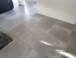 carrelage moderne et design gris
