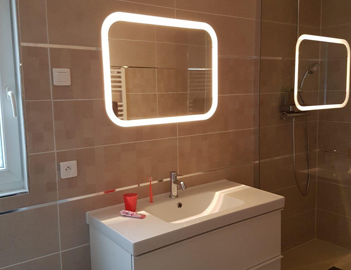 Salle de bain moderne tournefeuille ca renovation toulouse - Showroom salle de bain toulouse ...