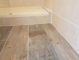 parquet design salle de bain