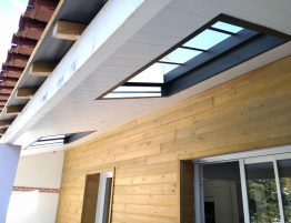 toit avec verriere exterieur