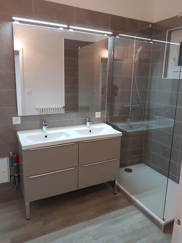 R novation salle de bain douche l 39 italienne ca - Showroom salle de bain toulouse ...