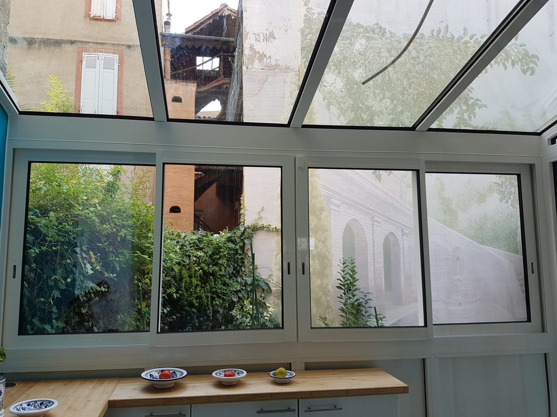 cuisine avec veranda