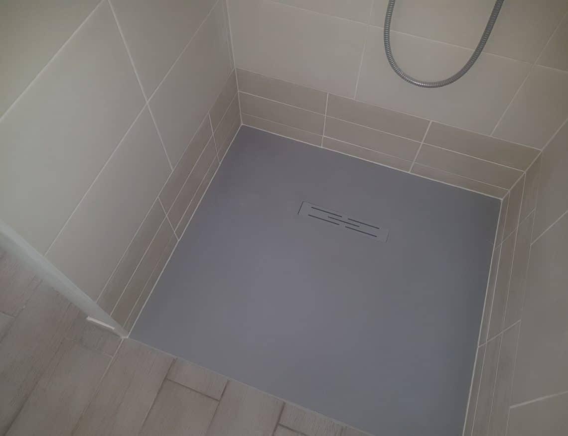 bac de douche moderne