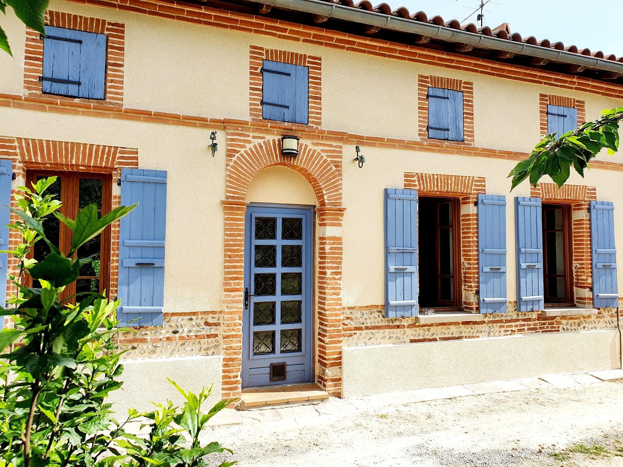 maison avec ravalement de facade